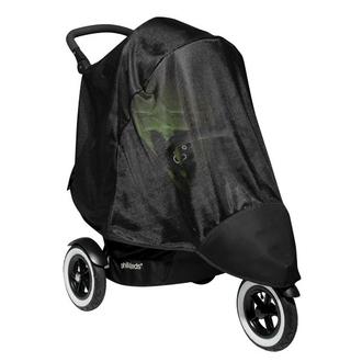 УФ защита (москитная сетка) для коляски Phil and Teds Dot Double Mesh Dot Double Черная сетка