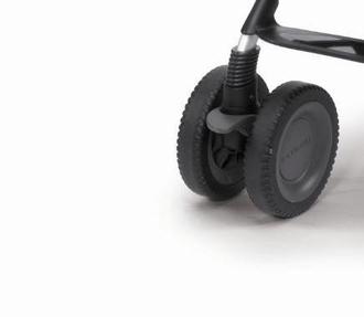 Колесо сдвоенное переднее к коляске Chicco Multiway Evo в сборе (1шт.)