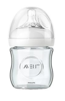 Бутылочка для кормления Avent Natural 120 мл, 1 шт, Стекло арт. 81410
