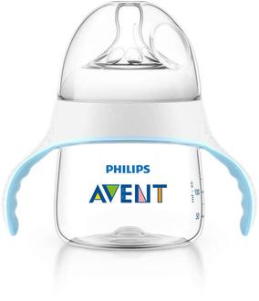 Бутылочка с соской (тренировочный набор) Avent Natural от 4 мес., 150 мл, Pp , арт. 82704