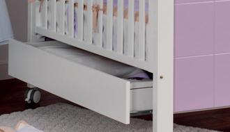 Ящик для кровати 120х60 Micuna CP-1405(White)