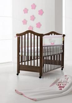 Кровать 120x60 Fiorellino Lily (Oreh/Орех)