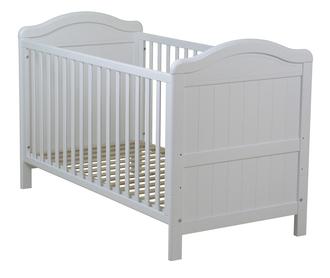 Кровать 140x70 Fiorellino Royal(Белый)