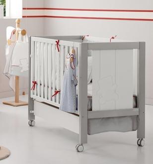 Кровать 120х60 Micuna Neus Relax(Grey/White)