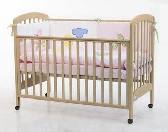 Кровать 120x60 Fiorellino Dalmatina(Natur/Натуральный)