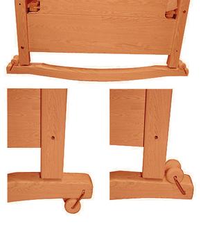 Качалка для кровати Micuna 120x60 CP-615(Honey)