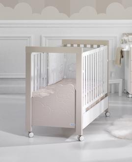 Кровать 120x60 Micuna Dolce Luce Relax со светодиодной подсветкой(Beige/White)