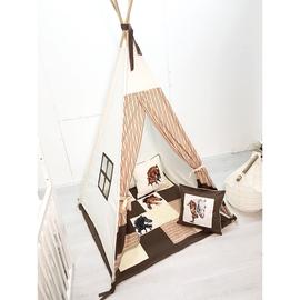 Домики, вигвамы, палатки, песочницы