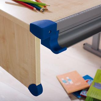 Цветные уголки для парты, синий