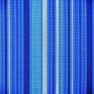 Подушка для стула Chair, синяя в полоску
