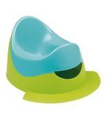 Горшок с подножкой Bebe Confort цвет зеленый / голубой 12 - 36 месяцев