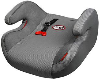 Детское автокресло-бустер HEYNER SafeUp XL гр. 23 Koala Grey серый