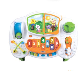 Weina-2134 Столик игровой, музыкальный, развивающий