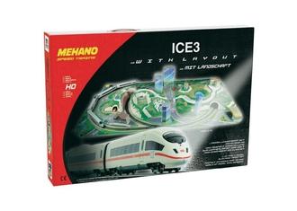 Железная дорога Ice 3 с ландшафтом (Сапсан)