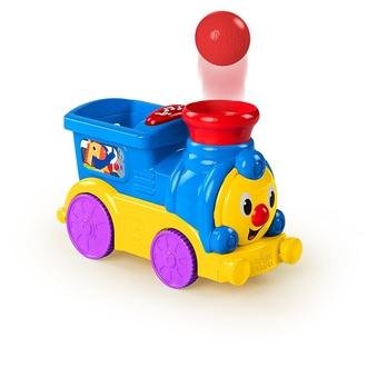 Веселый паровозик Bright Starts с мячиками
