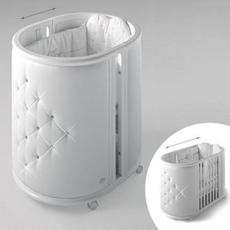 Колыбель-кровать Bambolina Perla(Белый)