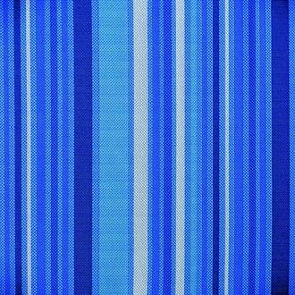 Подушка для тумб, синяя в полоску