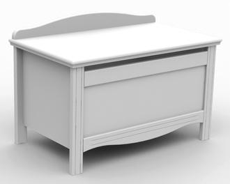 Ящик для игрушек Fiorellino Slovenia(Белый)