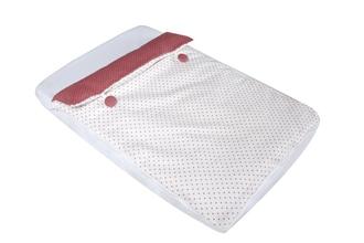 Комплект постельного белья для колыбели Micuna Cododo TX-1640(Pink Buttons)