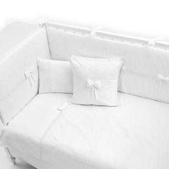 Постельное бельё Fiorellino Premium Baby белый 140x70 5 предметов