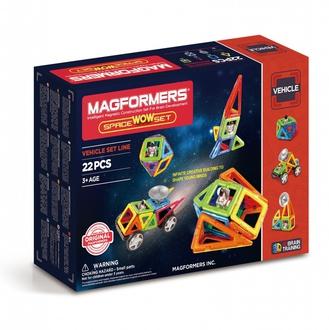 Магнитный конструктор Space Wow Set