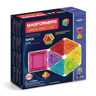 Магнитный конструктор Window Basic 14 set