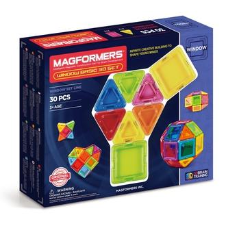 Магнитный конструктор Window Basic 30 set
