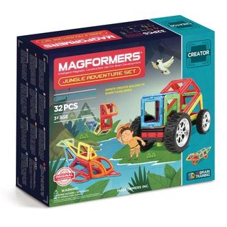 Магнитный конструктор Adventure Jungle 32 set