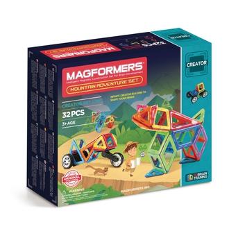 MAGFORMERS Магнитный конструктор Adventure Mountain 32 set
