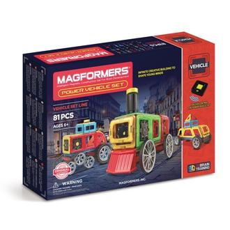 Магнитный конструктор Power Vehicle Set