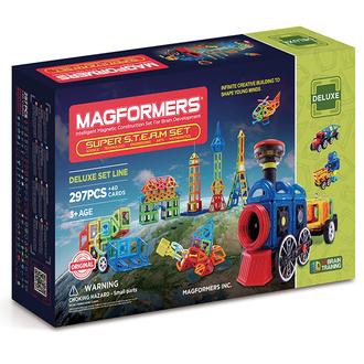 Магнитный конструктор Super Steam set