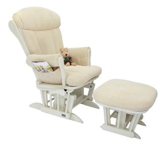 Кресло-качалка для кормления Tutti Bambini Rose GC75(White/Cream)