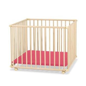 Детский Манеж 4-x секционный, Красный