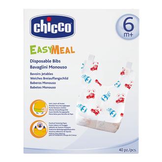 Одноразовые нагрудники Chicco 40 шт., 6+, 310306032