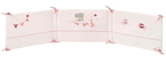 Бортик для кровати универсальный Nattou Adele Valentine Слоник и Мышка 424394