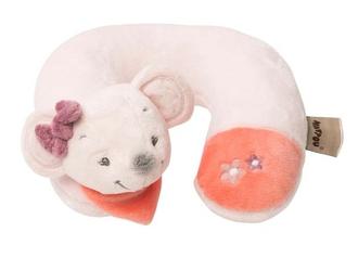 Подушка-подголовник Nattou Neck pillow Adele Valentine Мышка 424370