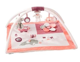 Игровой коврик Nattou Adele Valentine Слоник и Мышка 424240