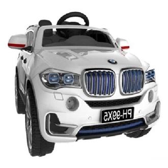 Машина на аккумуляторе (6V4.5AH*2, 22W*2), цвет белый, размер машинки 106*70*55см