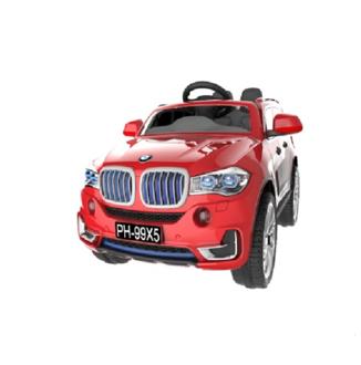 Машина на аккумуляторе (6V4.5AH*2 мотора), цвет красный, размер коробки 106*55*40см, размер машинки 106*70*55 см