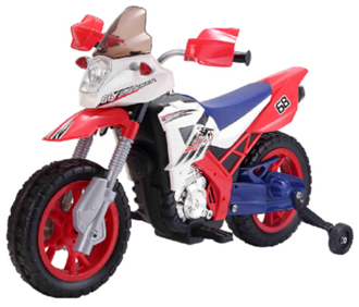 Мотоцикл на аккумуляторе (6V-4.5AH), размер коробки 80*32*52 см, размер мотоцикла 109x56x72 см