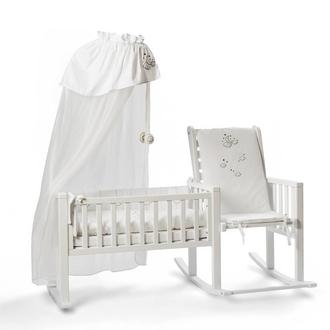 Кресло-качалка Fiorellino Chadle(White)