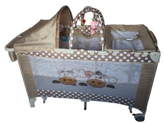 Кроватка - манеж Forkiddy Arena Lux New (Весёлые коровки)
