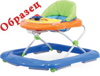 Детские ходунки Forkiddy «Play and Go» Blue (образец со склада)