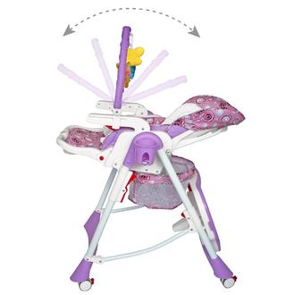 Стульчик для кормления ForKiddy Optimum Toys V2 Violet 0+