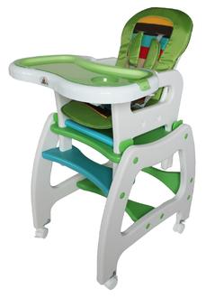 Стульчик для кормления трансформер ForKiddy Active Comfort Green