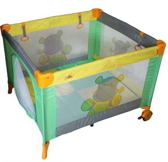 Манеж Forkiddy Quadro Plus Green