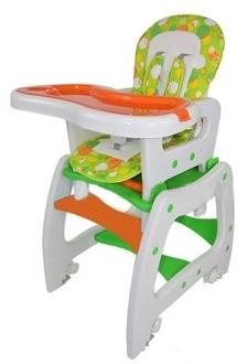 Стульчик для кормления трансформер ForKiddy Active Comfort (Orange - Green)