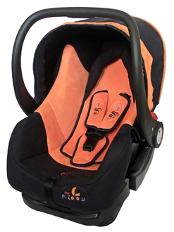 Автолюлька ForKiddy Little One Orange (в комплекте с базой)