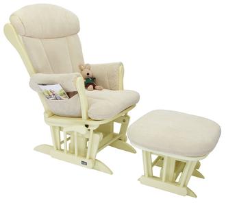 Кресло-качалка для кормления Tutti Bambini Rose GC75(Vanilla/Cream)