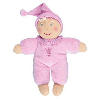 Плюшевая Кукла розовая Baby Glück 28 см 93398